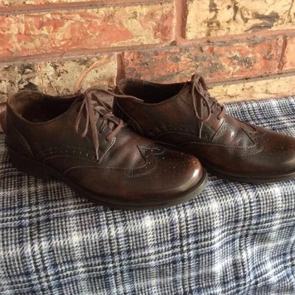 Bass Other - BASS Classics Mens 7.5 Brown Wingtip Oxford Shoe